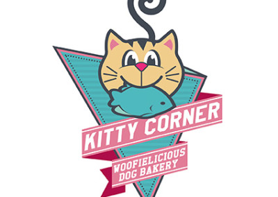 Kitty Corner Logo Design