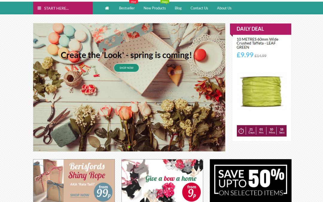 Crafty Cavern E-Commerce Website