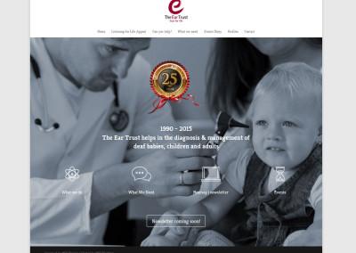 The Eartrust Website Design