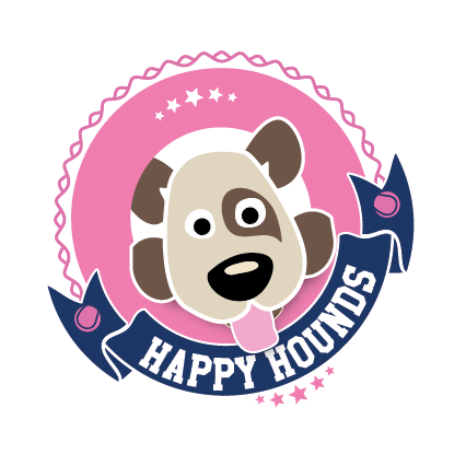 Happy Hounds t-shirt front
