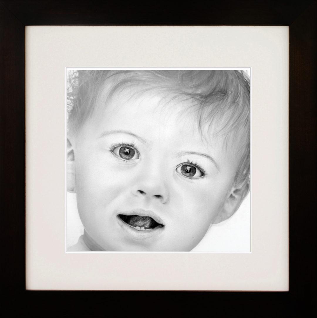 Child Portrait – pencil