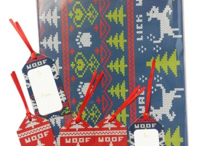 Wrapping Paper and Tags (Amazon)