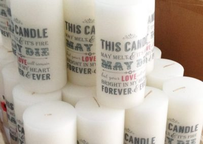 Candle Print